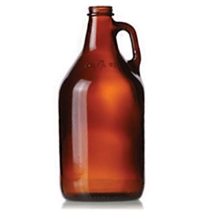 64oz Refillable Growler Amber