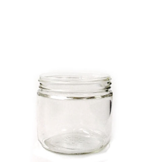 12OZ Wide Mouth Jars 83-400, Flint