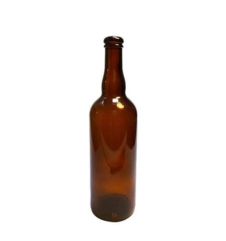 750ml Amber Belgium Cork Finish Beer