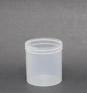 16oz Natural Plastic Jar