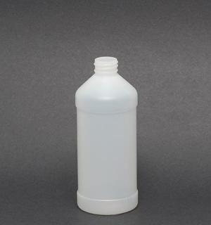 16 oz Natural Plastic Modern Round