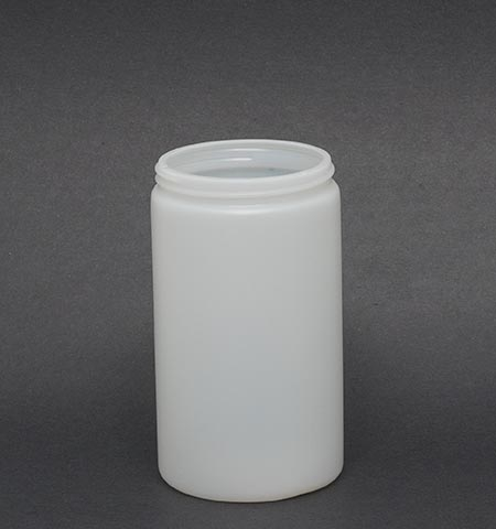 32oz Natural Plastic Jar